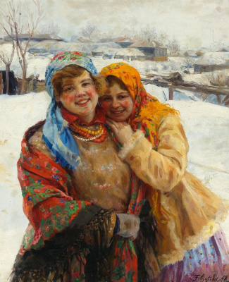 Федор Васильевич Сычков. Русские девушки.