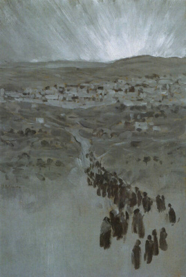 Исаак Ильич Левитан. На пути к Сиону