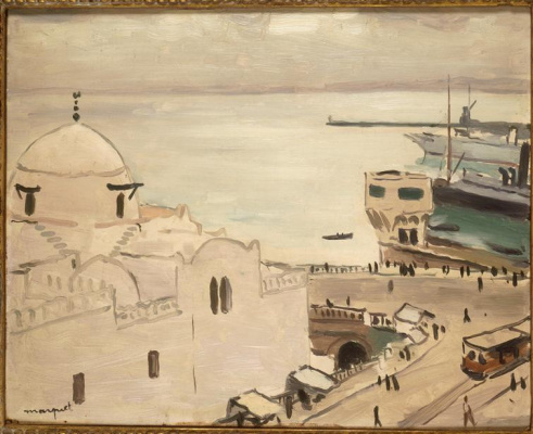Albert Marquet. The government Palace in Algiers
