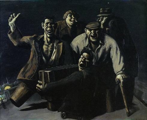 Vasily Vladimirovich Shulzhenko. Night at the station