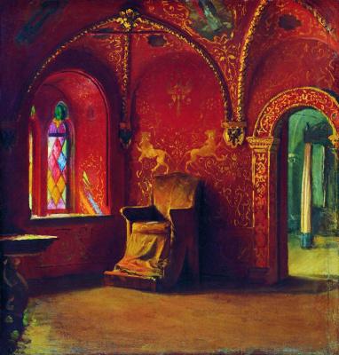 Andrei Petrovich Ryabushkin. Red Chamber. 1899