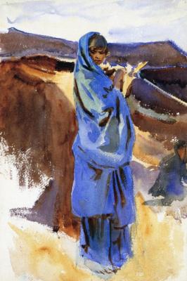 Джон Сингер Сарджент. Бедуинская девушка