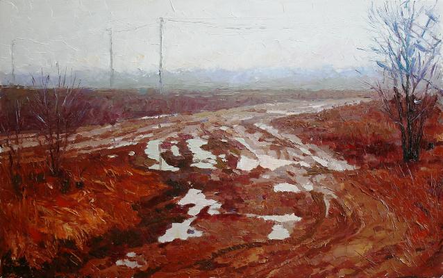 Михаил Рудник. The study 176. Ungol