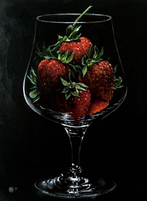 Hope Sosnovikova. A glass of vitamins