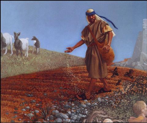James Christensen. The sower
