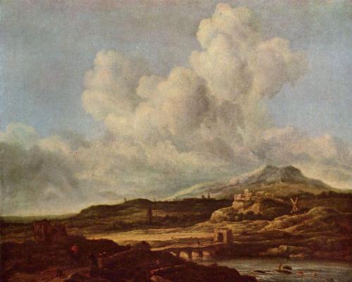 Якоб Исаакс ван Рейсдал. Пейзаж с дюнами