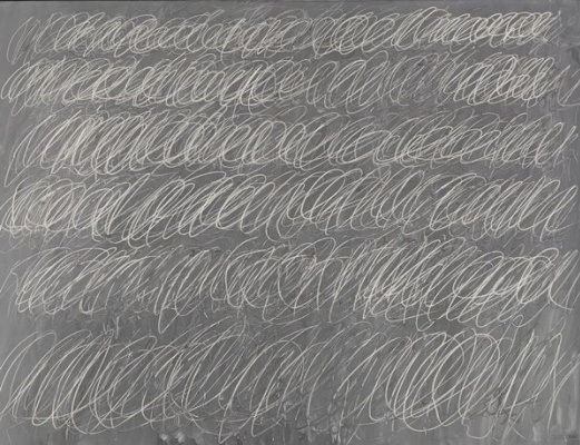 """Sai Twombly. Untitled from the series """"blackboard"""""""