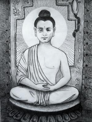 Svetlana Makarova. Buddha