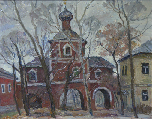 Boris Petrovich Zakharov. In the Convent of the Convent. Etude.