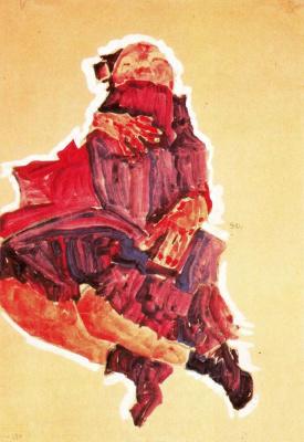 Egon Schiele. Sleeping girl
