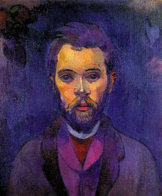 Paul Gauguin. Portrait Of William Molard