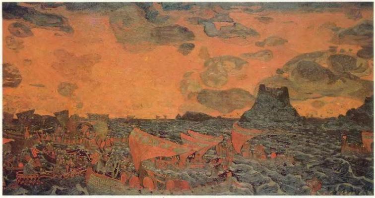 Nicholas Roerich. Battle