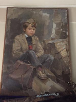 Vladimir Alekseevich Bernadin. Portrait