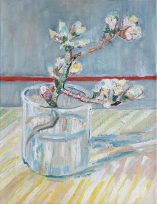 Tatyana Nikolaevna Antonova. Flowering almond branch