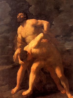 Guido Reni. Hercules fighting acheloos