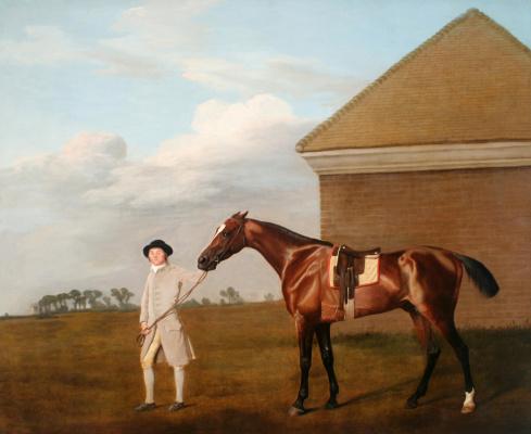 George Stubbs. Fiery Tail and his jockey