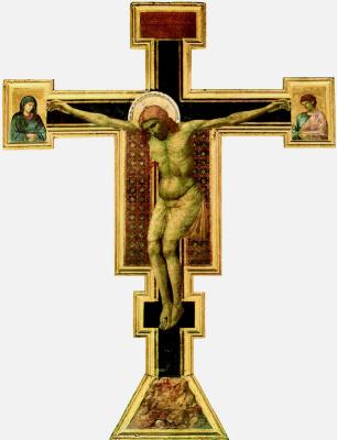 Giotto di Bondone. Crucifixion Santa Maria Novella