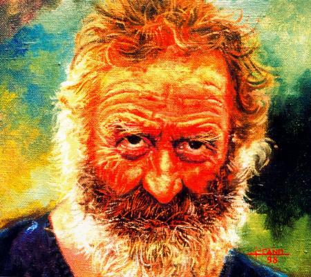 Алехандро Кано Боладо. Портрет пожилого мужчины