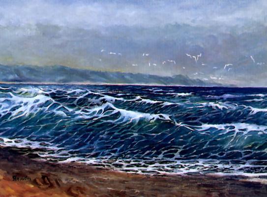 Ти Илиадис. Море