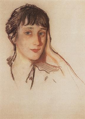 Zinaida Serebryakova. Portrait Of A. A. Akhmatova