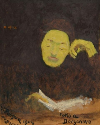 Giovanni Giacometti. Katerina Ottilie Santi, the artist's mother