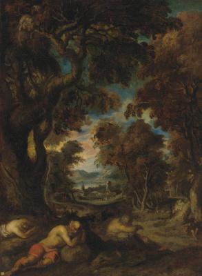Théodore Géricault. Sleeping peasants