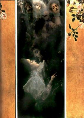 Gustav Klimt. Love