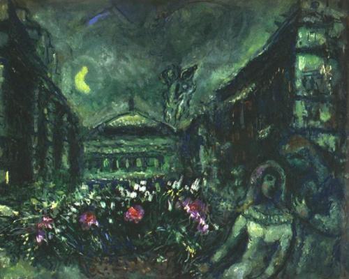 Marc Chagall. Avenue Opera
