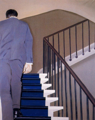 Жиль Эло. Поднимаясь по лестнице