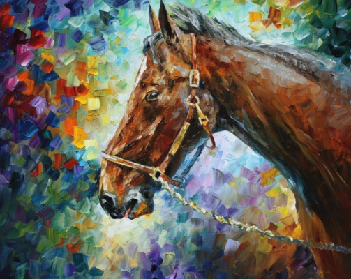 Leonid Afremov. Horse