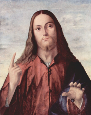 Vittore Carpaccio. The Savior of the world