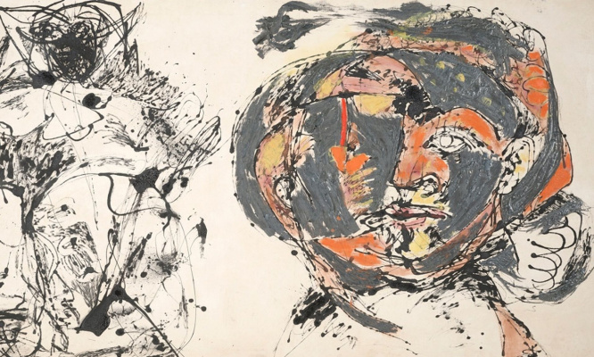 Jackson Pollock. Portrait and a dream