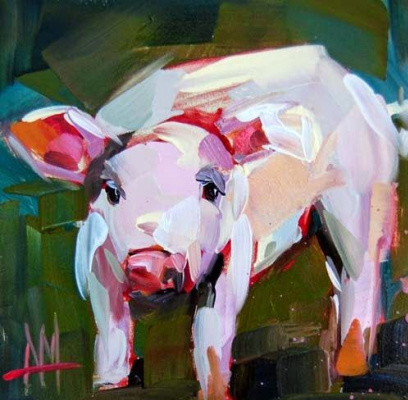 Angela Moulton. Little piggy