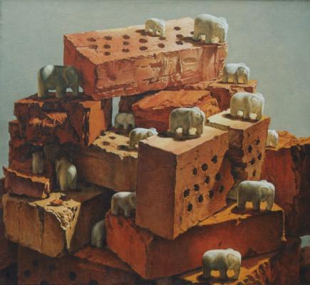 David Shikovich Brodsky. The elephants of my life