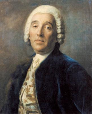 Пьетро Ротари. Портрет архитектора Бартоломео Растрелли