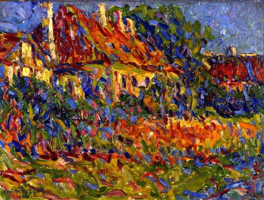 Erich Heckel. Country house in Osterholm