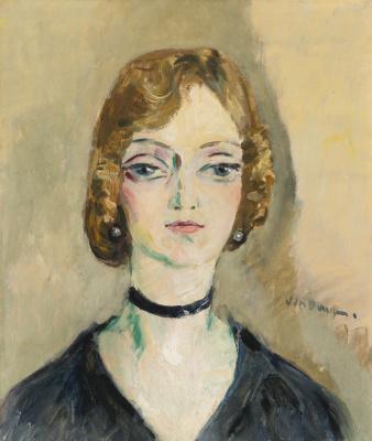 Kees Van Dongen. Female portrait.