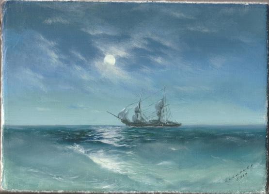 Sergius Leiman. Copy (Ivan Konstantinovich Aivazovsky)