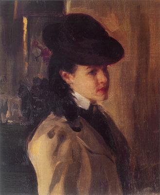 Alexander Murashko. Portrait Of O. M. Nesterova