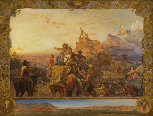 Emanuel Gottlieb Loicze. Empire takes a course to the West