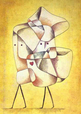 Paul Klee. Brother and sister