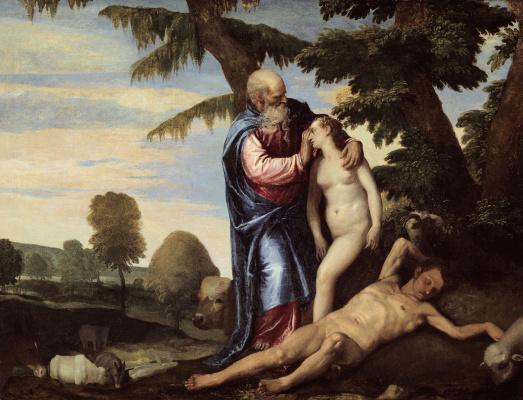 Paolo Veronese. Eve's creation