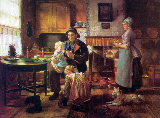 Отто Карл Кирберг. Семья