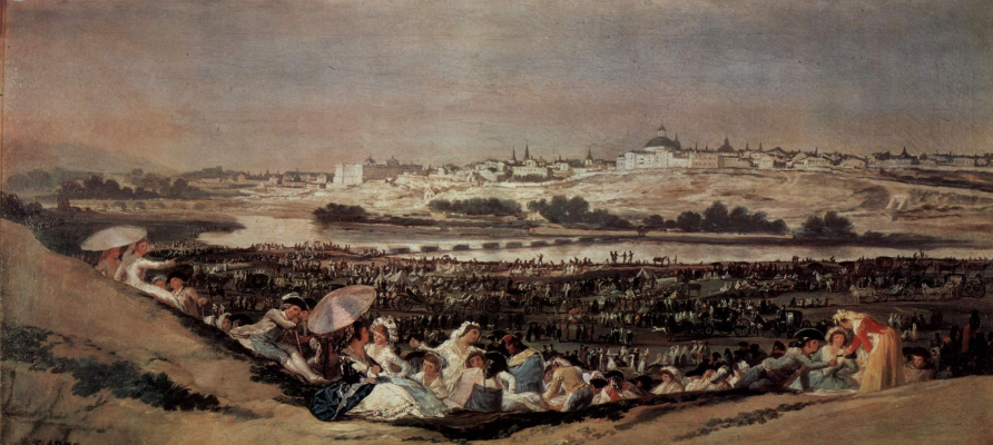 Francisco Goya. Folk feast day of St. Isidore