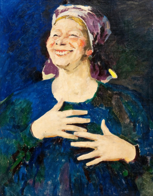 Philip Andreevich Malyavin. The laughing woman