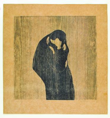 Edvard Munch. Kiss IV