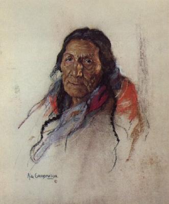 Николас де Гранмезон. Индейский портрет 61