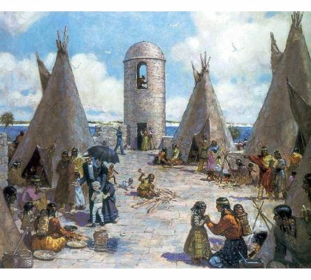 Джеймс Калверт Смит. Индейцы