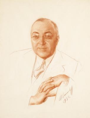 Alexander Yevgenyevich Yakovlev. Portrait Of Boris Bakhmetiev