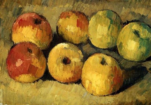 Поль Сезанн. Яблоки